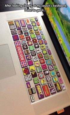 Superhero MacBook silicone keyboard cover