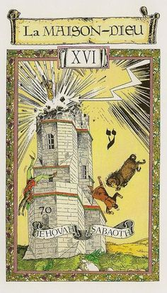 The House of God (The Tower) - Le Tarot des Templiers