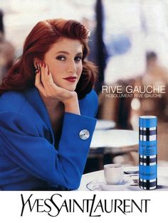 Angie Everhart - 1990 Rive Gauche Yves Saint Laurent Ads - Ph. Unk