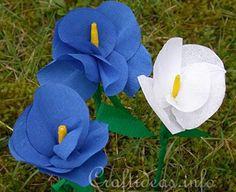 Tutorial : Crepe Paper Flower Bouquet