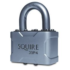 Squire Vulcan P4 Keyed Alike Padlock Max. Die-cast steel construction. Premium quality and performance. Double deadlocking and ball-locking pin tumbler. 2 keys supplied. Padlock and 2 x keys. http://www.MightGet.com/april-2017-1/squire-vulcan-p4-keyed-alike-padlock-max-.asp