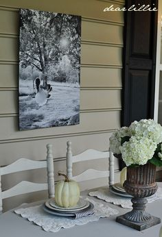 September Porch by Dear Lillie