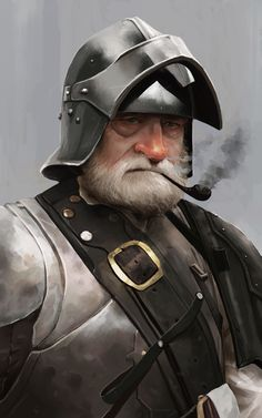 Knights exercise, Rodrigo A. Branco on ArtStation at https://www.artstation.com/artwork/wZvRY
