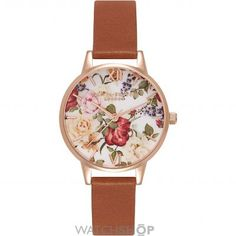 Ladies' Olivia Burton Enchanted Garden Watch (OB15EG35) - WATCH SHOP.com™