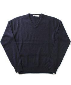 BEAMS LIGHTS(Men's)の□BEAMS LIGHTS / カシミヤVネックセーターです。こちらの商品はBEAMS Online Shopにて通販購入可能です。