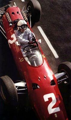 1965 GP Holandii (Zandvoort) Ferrari 1512 (John Surtees)