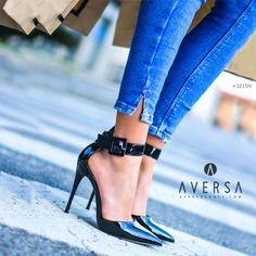 Sandalo con tacco Steve Madden Desire nero