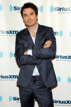 Ian Somerhalder Looks Like A Million Bucks at SiriusXM NYC http://sulia.com/channel/vampire-diaries/f/b836b967-cf8d-4b23-860c-de04234b6d14/?pinner=54575851&