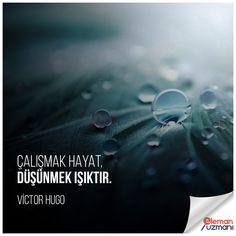 Çalışmak hayat, düşünmek ışıktır. - VİCTOR HUGO #eski #söz #victorhugo #çalışmak #hayat #düşünmek #ışık #işbul #çarşamba #istanbul #ankara #bursa #isilanları #isara #işarıyorum #elemanuzmanı #isbulmak #iş #work #işilanları #like #hemen #iş #bul #cv #is #elemanuzmani #business #worker #jobs Victor Hugo, Ankara, Istanbul, Movie Posters, Film Poster, Film Posters, Poster