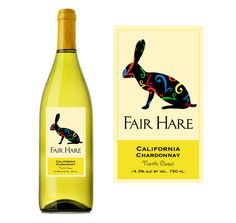 Wine label design Napa Fair Hare