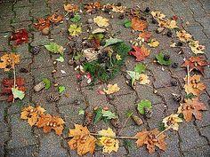 Grundschule Mühlried - Herbstmandalas