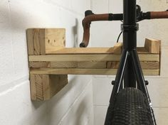 Bike Shelf/Rack made from recycled pallet wood