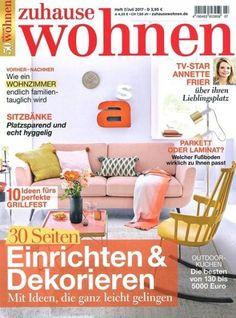 Elegant Deine lieblings Zeitschrift zum Thema Wohnen und Dekorieren im Abo mit Praemie bei uns erhaeltlich Spare jetzt Geld bei unseren Abo Modellen lass Dich von