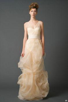 Vera Wang, kinda like these for bridesmaids dresses