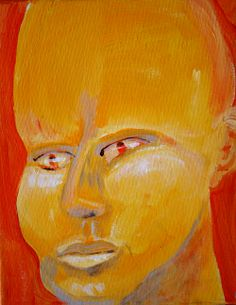 Selfirst   George Pearlman, Monster Series #monster #painting