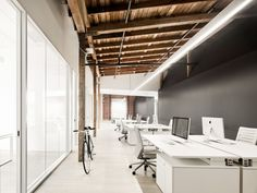Image result for open ceiling interiors