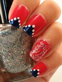 I Feel Polished!: 4th of July Nails