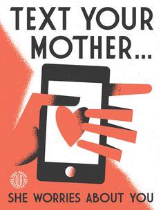 Escribe a tu madre.