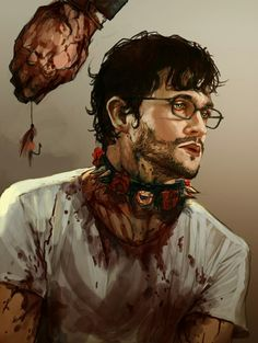 """Hook, line and sinker."" by drawingfixx Hannibal Tv Series, Nbc Hannibal, Hannibal Lecter, Virginia Woolf, Sir Anthony Hopkins, Will Graham, Hugh Dancy, Good Doctor, Mads Mikkelsen"