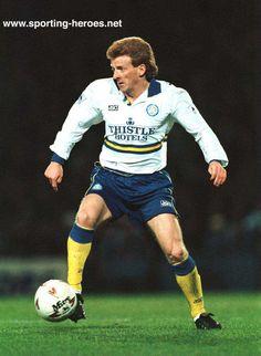 Gordon Strachan, Leeds United v Blackburn, 10th April 1993.