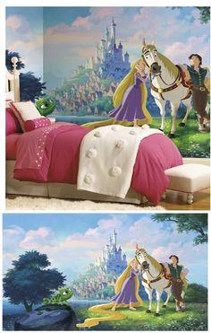 Disney Tangled Rapunzel XL Wall Mural   Wall Sticker Outlet