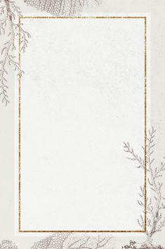 Blank golden coral rectangle frame | premium image by rawpixel.com / NingZk V. #vector #vectoart #digitalpainting #digitalartist #garphicdesign #sketch #digitaldrawing #doodle #illustrator #digitalillustration #modernart #frame Flower Background Wallpaper, Beige Background, Background Patterns, Gold Abstract Wallpaper, Framed Wallpaper, Phone Wallpaper Design, Instagram Frame, Instagram Story, Glitter Frame