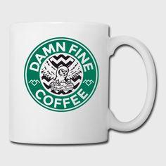 Twin Peaks, log lady, damn fine cup of coffee, cherry pie, laura palmer, agent cooper, dale cooper, black lodge, garmonboza, david lynch, starbucks, coffee, caffeine, caffeinated, twin peaks fan, twin peaks symbol, twin peaks owl, owls, owl, pi day, horror, horror movies, energy drinks,