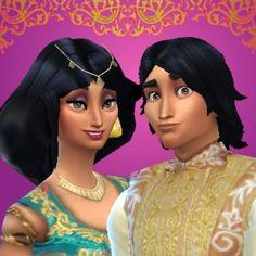 Mod The Sims - Aladdin & Jasmine: Disney Fairytale Collection Pt. 2