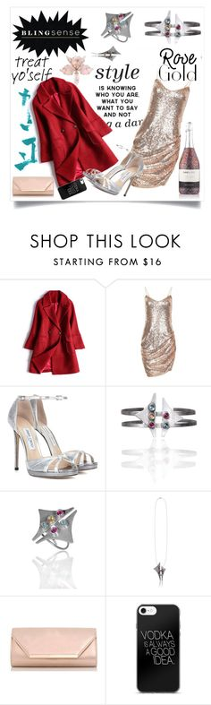 """blingsense"" by maidaa12 ❤ liked on Polyvore featuring Jimmy Choo and Dorothy Perkins"