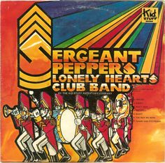 Kid Stuff Repertory Company, The - Sergeant Pepper's Lonely Hearts Club Band (Vinyl, LP, Album) at Discogs