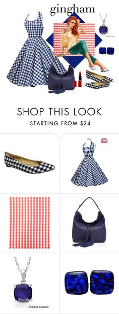 """""""I Love Gingham"""" by glitterlady4 ❤ liked on Polyvore featuring Penny Loves Kenny, Serena & Lily, Rebecca Minkoff, Miadora and Giorgio Armani"""