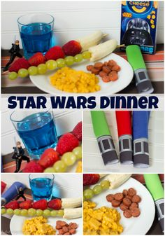 Easy Star Wars Dinner for kids! Enjoy a full Star Wars Dinner theme with very little effort! Kids will love it! #Youknowyouloveit #ad