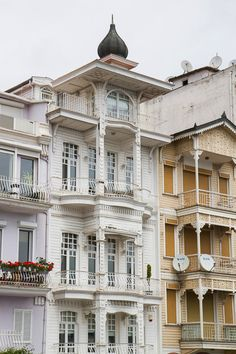 Arnavutköy Ottoman Building, İstanbul, Turkey.