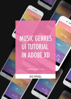 Hey, Pixels! In this week's tutorial, I'll be showing you how to design a Music Genres UI in Adobe XD. A common UI in many music player apps is the area in the app where you can find music based on the different genres of music you wish to hear.
