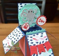 Sea Street Card in a Box by Christine Slogar