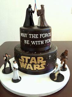Star Wars Cake Tutorial!