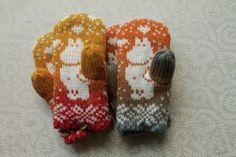 Exclusive hand-made children mittens.
