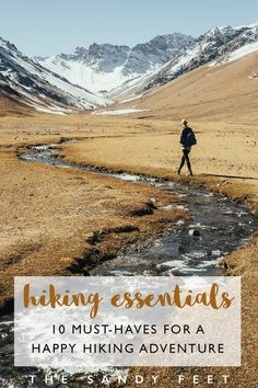 Hiking Packing List: 10 Must-Have Hiking Essentials For A Happy Hiking Trip #hiking #travelessentials #adventure #essentials #travelgear Travel Essentials   Hiking Essentials   Hiking Packing List   Best Hiking Gear   What To Pack For A Day Hike