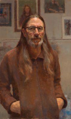 Jim McVicker, self, 20x30, 2015