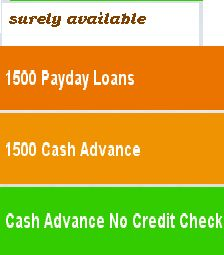 1500 payday loans are a good solution for borrowers who want short ...