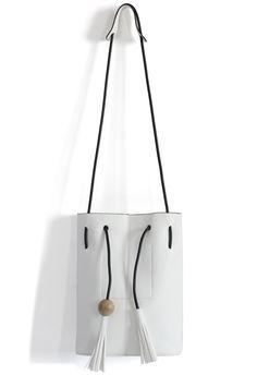 Bucket Bag with Tassel