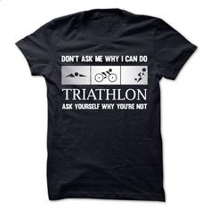I can do Triathlon - t shirt design #Tshirt #style