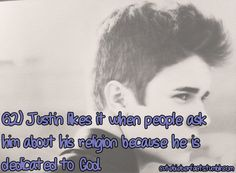 Justin Bieber Facts                                                                                                                                                                                 More