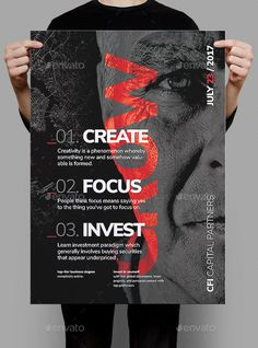 Grow Business Poster / Flyer — Photoshop PSD #advertisement #money • Available here ➝ https://graphicriver.net/item/grow-business-poster-flyer/20398503?ref=pxcr