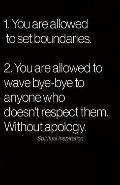 I love this!  #respect#boundaries