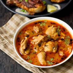Punjabi Chicken Curry Dhaba Style recipe with stepwise instructions. Overall balanced curry and tastes better the nest day.