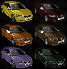 Custom Car Color What Would Yours Be Volvo C30 Forums And