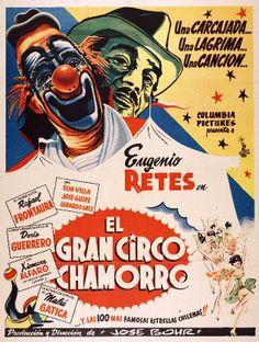 Afiche de la película El Gran Circo Chamorro, 1955