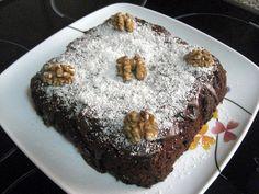 Tarta Fácil De Chocolate y Nueces