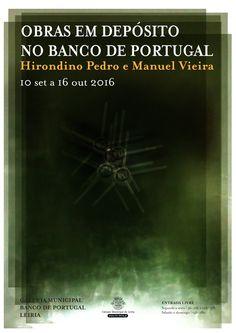 Cartaz para exposição no Banco de Portugal, Leiria by Fausto Vicente